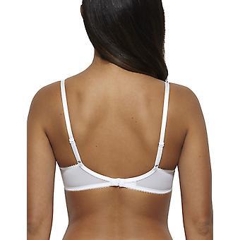 Gossard 7725-vrouwen Suberboost Lace witte Lace niet-Padded BH diepe duik Plunge beha