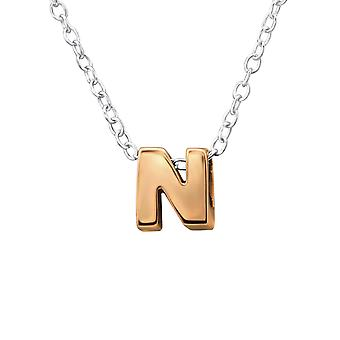 N - 925 Sterling Silver Plain Necklaces - W31035X