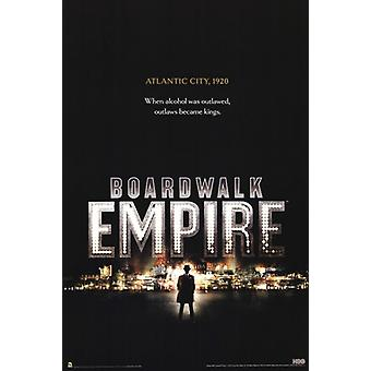 Boardwalk Empire Poster Poster Print