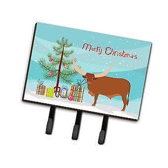 كارولين BB9190TH68 الكنوز انكولي-واتوسو البقر عيد الميلاد المقود أو حائز المفتاح