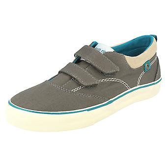 Boys Startrite Summer Canvas Shoes Dinghy