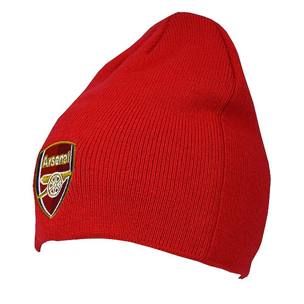 Arsenal FC offisielle voksne strikket fotball Crest vinter Beanie lue