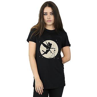 Kobiet Disney Tinkerbell księżyc przycięte chłopaka Koszulka