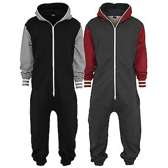 Urban classics - COLLEGE jumpsuit jumpsuit jogging suit