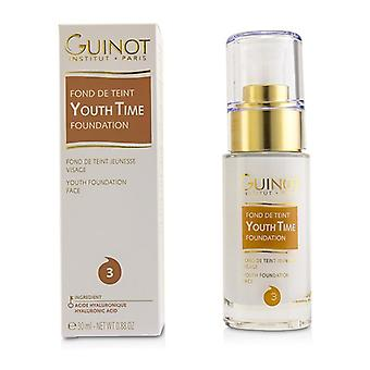 Guinot ungdom tid Face Foundation - # 3-30ml/0,88 oz
