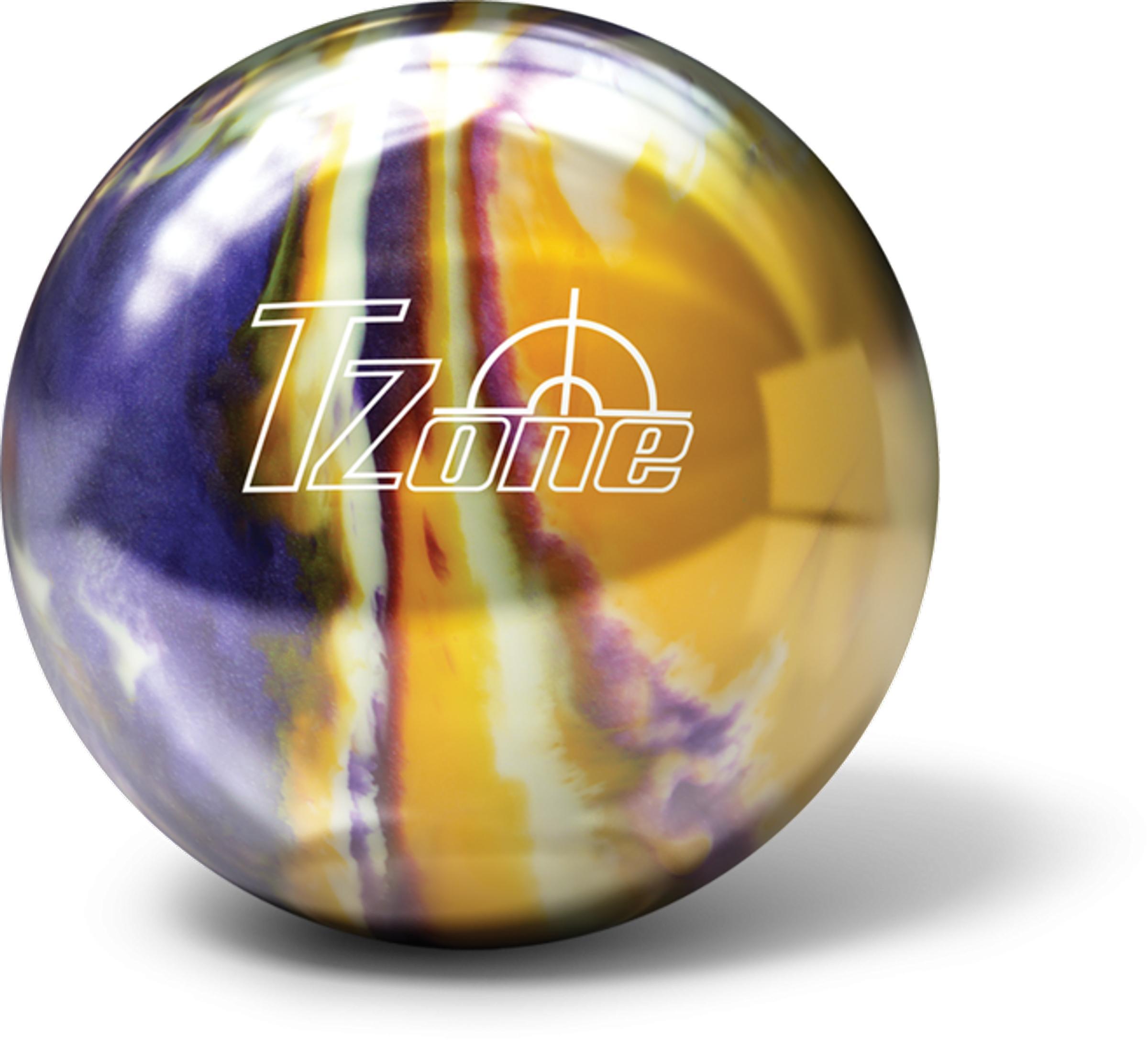 Bowling ball bowling ball Brunswick T-zone cosmic - Groovy grape