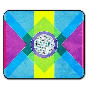 Geometric Pattern  Non-Slip Mouse Mat Pad 24cm x 20cm | Wellcoda