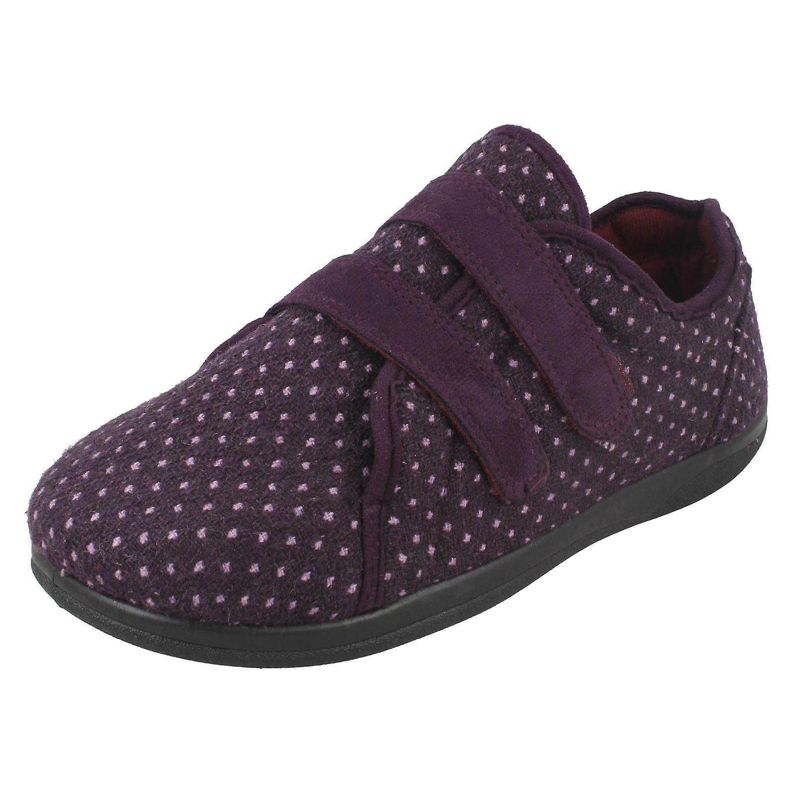 Ladies Padders Slipper Shoes Duo OdxL6