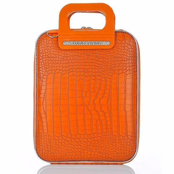 Cocco Bombata Briefcase for 12 inch laptop Siena by Fabio Guidoni - Orange