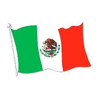 Mexican Flag Cut-out Decoration