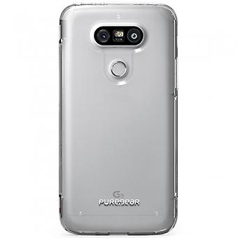 PUREGEAR SLIM SHELL PRO CASE FOR LG G5 - CLEAR/CLEAR