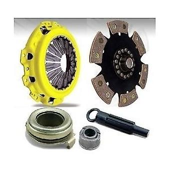 ACT Z66-XTR6 XT Pressure Plate with Race Rigid 6-Pad Clutch Disc