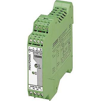 Phoenix Contact MINI-PS-12-24DC/48DC/0.7 Rail mounted PSU (DIN) 48 V DC 0.7 A 1 x