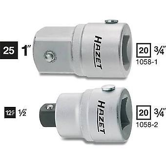 Adaptador Hazet 1058-2 Bit Drive (destornillador) 3/4 (20 mm) Fuerza descendente 1/2 (12,5 mm) 52,3 mm 1 ud(s)