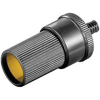 Goobay Goobay car cigarette lighter socket Max. load capacity=2.5 A Compatible with (details) Cigarette lighter plug