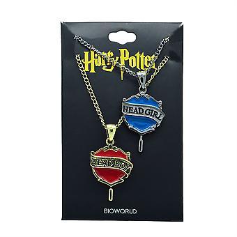Harry Potter hodet gutt/jente Beast halskjede sett