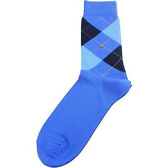 Burlington Queen Socks - Blue/Light Blue/Dark Navy
