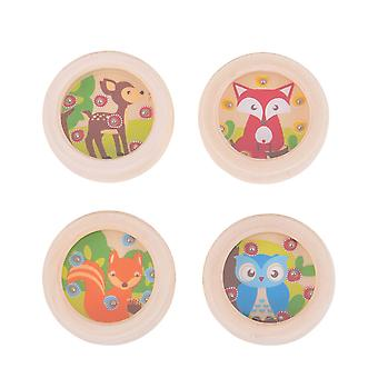Bigjigs Toys Wooden Woodland Ball Games Play Set (Pack of 4) Mini Puzzles