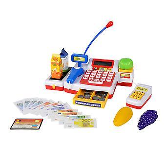 Spielzeug-Kasse mit Scanner