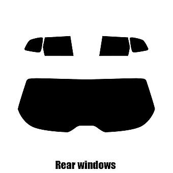 Pre cut fönstret nyans - Subaru Forester - 2014 och nyare - bakre windows