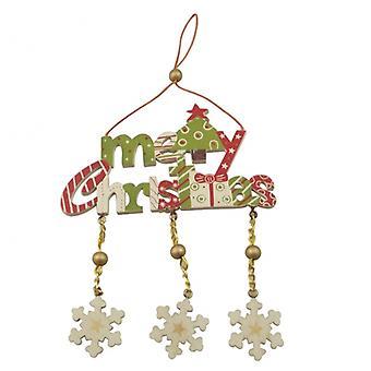 Himmel schickt Frohe Weihnachten Home Dekoration