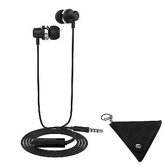 LANGSDOM J10 3.5 mm Bass Stereo Headphone-Black