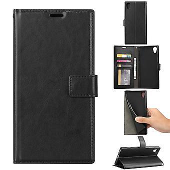 Brieftaschentasche Sony Xperia XA1 Plus-Black