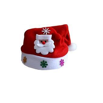 Hotte de capot avec le motif clignotant-Santa Claus