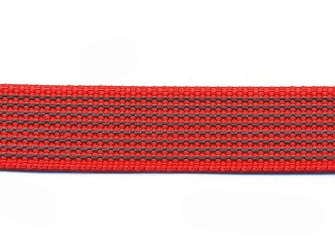 K9-Sport Super-Grip leash with handle, red