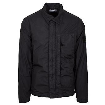 Stone Island Grey Garment Dyed Crinkle Reps NY Jacket