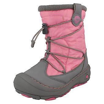 Piger Hi-Tec hastighed blonder vandtætte støvler Equinox Mid WP