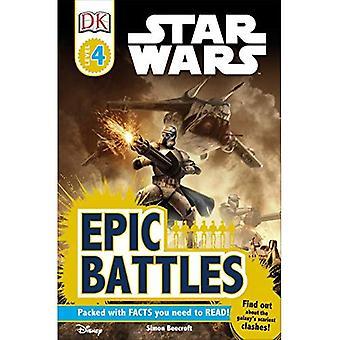 Star Wars Epic Battles (DK Reader - Level 4)