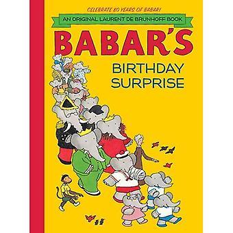 Surpresa de aniversário de babar