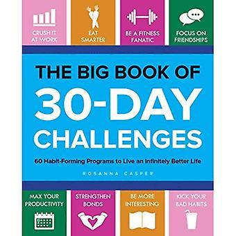 The Big Book of 30-daagse uitdagingen: 60 verslavend programma's om een oneindig veel beter leven