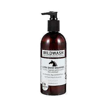 Wildwash Horse Ultra Shine Natural Skin & Coat Care Shampoo for Horses