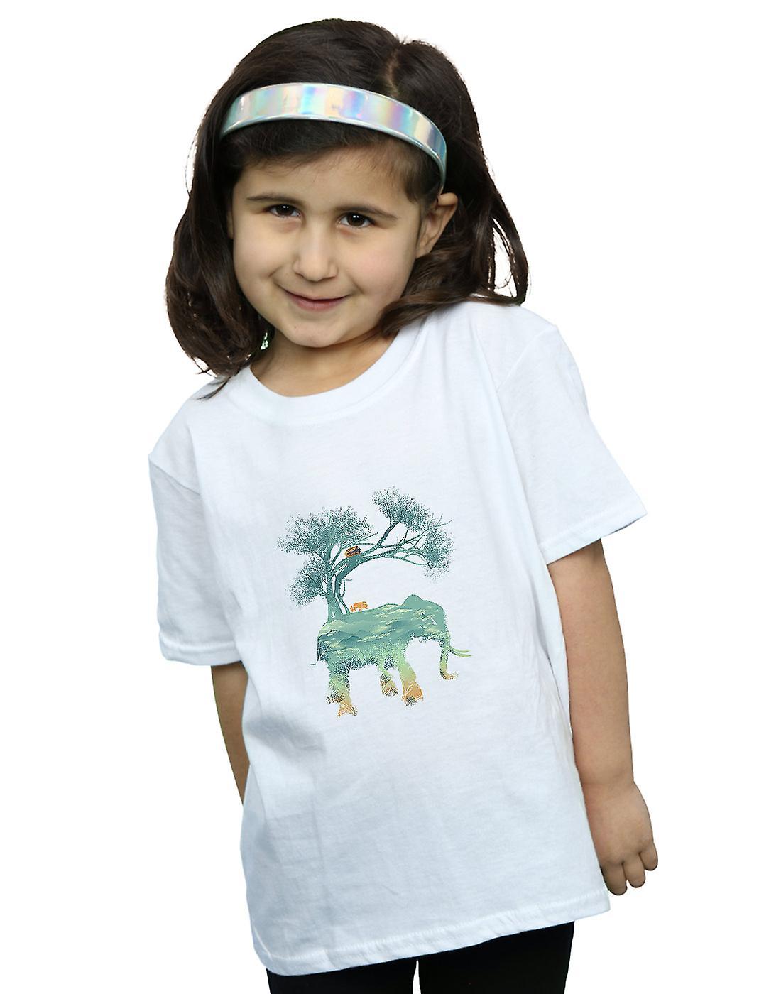 Dan Dingeroz Girls Elephant Nature T-Shirt