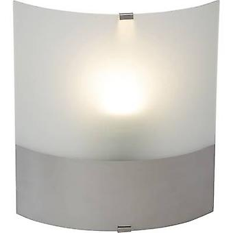 Brilliant Niebla 94424/15 Wall light E-27 60 W LED (monochrome) Chrome, White (opaque)