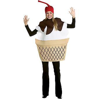 Ice Cream Adult kostym - 21685