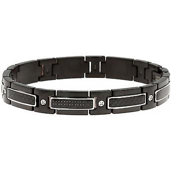 Remmen ratchet B501099 - Hybrid svart man armband