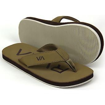 RVCA Mens VA Sport liitto valtion sandaalit-Sand Brown