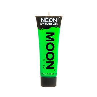Moon Glow - 20ml Neon UV Hair Gel - Temporary Wash-out Hair Colour - Green