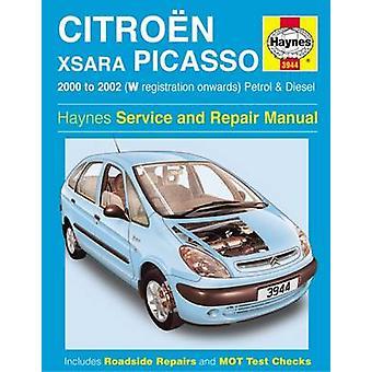 Citroen Xsara Picasso Service and Repair Manual - 9781785210068 Book