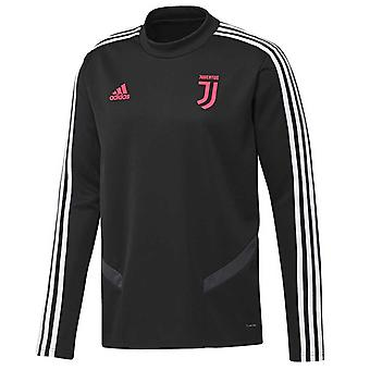 2019-2020 Juventus Adidas Training Top (Black) - Kids