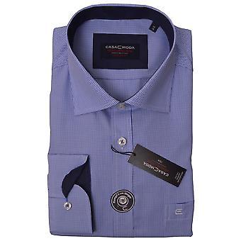 CASA MODA Casa Moda Fine Check Formal Shirt
