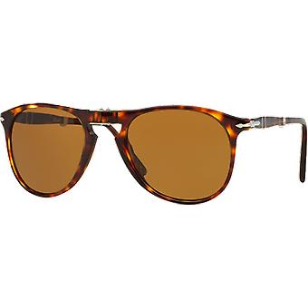 Persol 9714S wide scale Brown