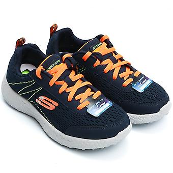 Skechers Burst Second Wind Sneaker, Navy /Orange