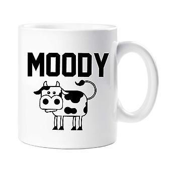 Moody Cow Mug
