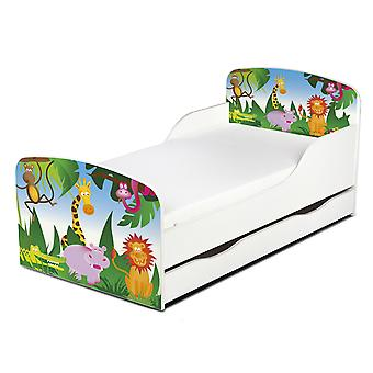 PriceRightHome Jungle Exclusive Design Toddler Bed