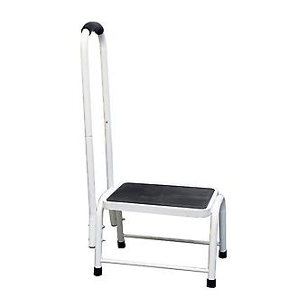 Safety Step Stool | Platform size: L26xW38xH28cm Handrail H: 89cm | Easylife