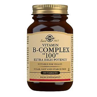 סולגאר פורמולה ויטמין B-קומפלקס 100 טבליות 100 (1161)